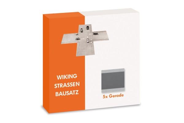 Wiking 119902 - Strassen Bausatz - Gerade Inhalt: 5 Stück - 1:87