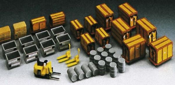 Kibri 38647 (8647) - Kleincontainer und Ladegut - H0
