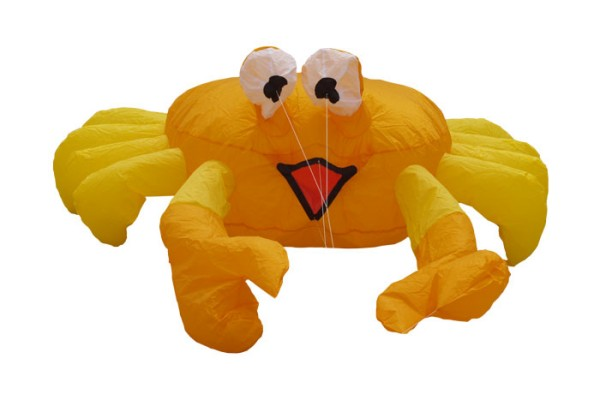 "Invento-HQ Windspiel Bouncing Buddy ""Billy the Crab"" / Krebs (124 x 105 cm)"
