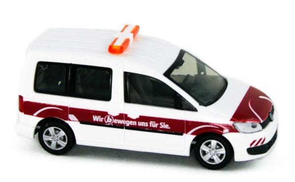 Rietze 31818 - Volkswagen Caddy Bus '11, Braunschweiger Verkehrs-GmbH - 1:87