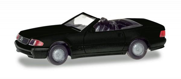 Herpa 013222 - Herpa MiniKit: Mercedes-Benz 500 SL (R129), schwarz - 1:87