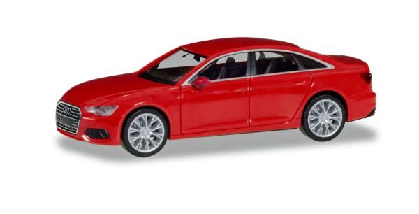 Herpa 430630-002 - Audi A6 ® Limousine, misanorot metallic - 1:87