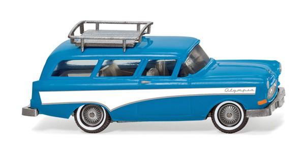 Wiking 007001 - Opel Caravan '57 - hellblau/weiß - 1:87
