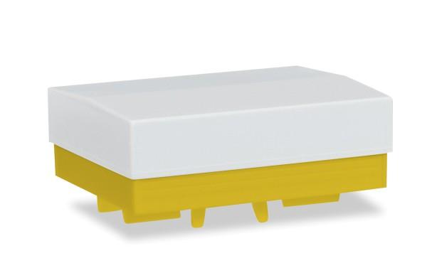 Herpa 051828-004 - Zubehör Ballastpritsche (2 Stück), gelb - 1:87