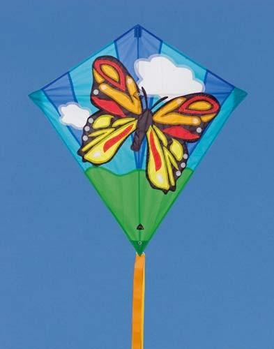 Eddy Butterfly, Kinderdrachen von Invento-HQ (68 x 68 cm) - R2F
