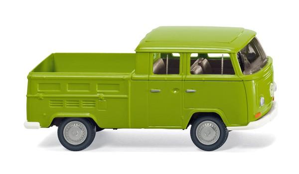 Wiking 031401 - VW T2 Doppelkabine - grün - 1:87