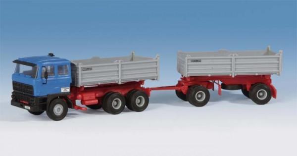 Kibri 14651 - DAF 3achs Zugmaschine mit 2achs Hänger - H0