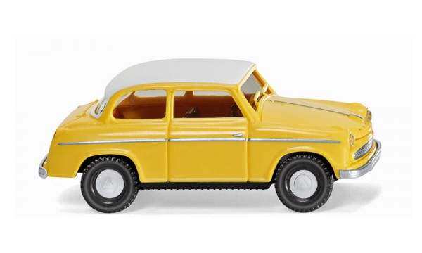 Wiking 080636 - Lloyd Alexander TS - gelb mit weißem Dach - 1:87
