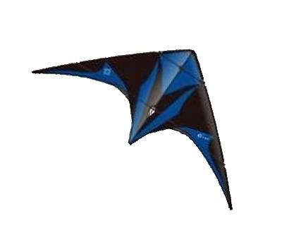 Slide, schwarz/blau - Lenkdrachen von Elliot (212 x 89) cm - R2F