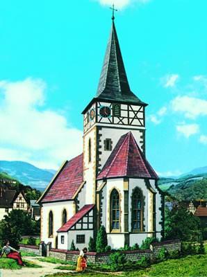 Kibri 39772 (9772) - Dorfkirche Ditzingen - H0