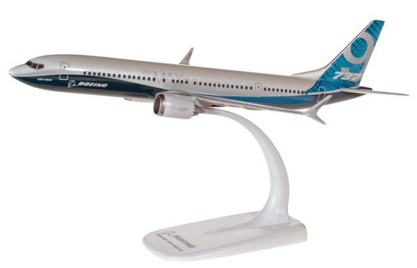 Herpa Wings 611824 - Boeing (House Colors) Boeing 737 MAX 9 - N7379E - 1:200 - Snap-Fit