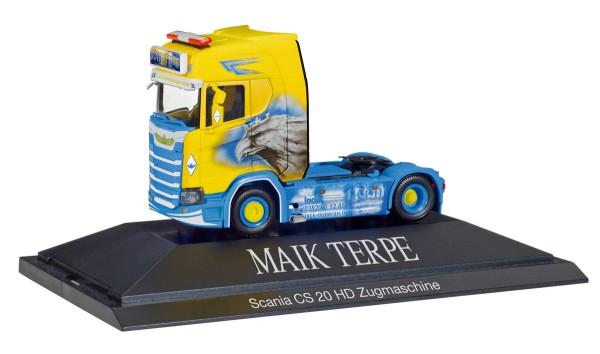 "Herpa 110914 - Scania CS 20 HD Zugmaschine ""Maik Terpe"" - 1:87"