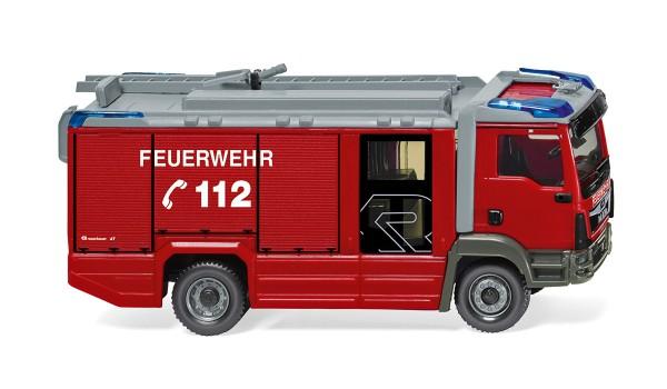 Wiking 061246 - Feuerwehr - Rosenbauer AT LF (MAN TGM Euro 6) - 1:87