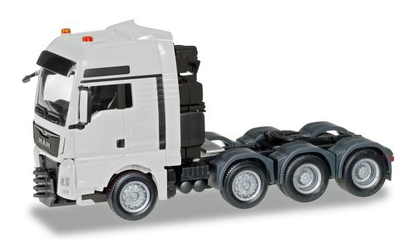Herpa 304375-003 - MAN TGX XXL 640 Euro 6 Schwerlast-Zugmaschine, weiß - 1:87