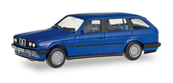 """Herpa 028714 - BMW 3er Touring E30 """"Herpa-H-Edition"""" (mit Kennzeichenbedruckung) - 1:87"""