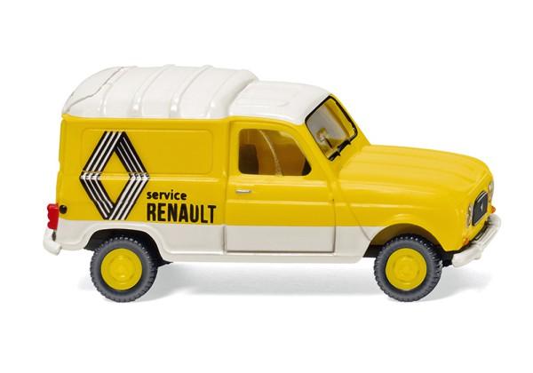 """Wiking 022503 - Renault R4 Kastenwagen """"Renault Service"""" - 1:87"""