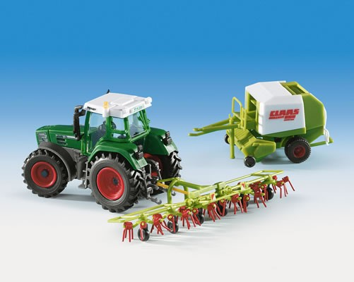 Kibri 12233 - CLAAS Set FENDT - ROLLANT - VOLTO - H0