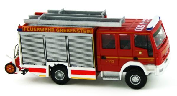 Rietze 61249 - Magirus HLF 20/16 Alufire 3 FW Grebenstein - 1:87
