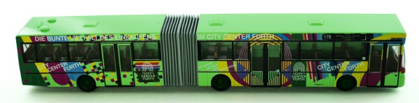 Rietze 69830 - Mercedes-Benz O 405G infra fürth - City Center - 1:87