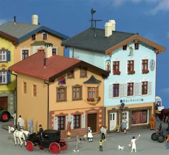 Kibri 38818 (8818) - Bücherei in Tölz (mit Lüftlmalerei) - H0