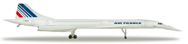Herpa Wings 532839 - Air France Concorde - nose down position - 1:500