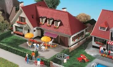 Kibri 38334 (8334) - Villa Elbchaussee - H0