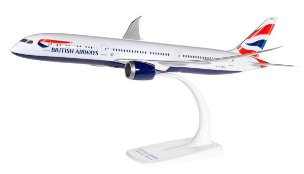 Herpa Wings 611572 - British Airways Boeing 787-9 Dreamliner - G-ZBKA - 1:200 - Snap-Fit