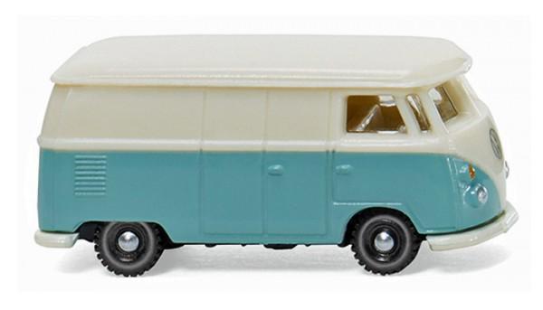 Wiking 093201 - VW T1 Kastenwagen - pastelltürkis/cremeweiß - 1:160
