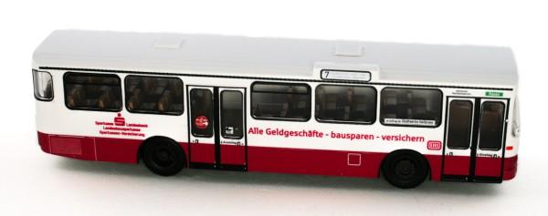 Rietze 74310 - Mercedes-Benz O 305 GBB Stuttgart-Sparkasse - 1:87 - Bahn Edition Nr. 53