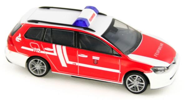 Rietze 53314 - Volkswagen Golf 7 Variant Feuerwehr Fellbach - 1:87