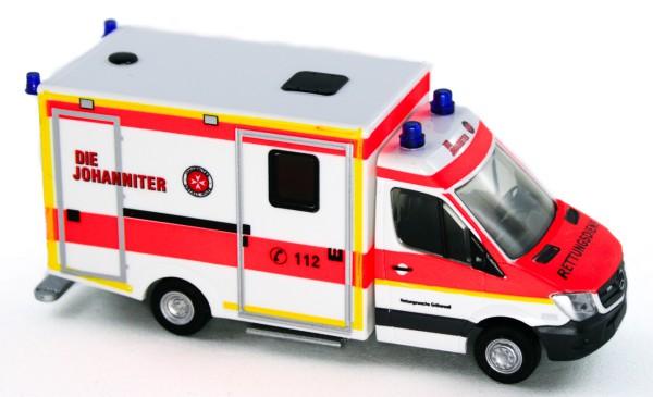 Rietze 61734 - WAS RTW Facelift Johanniter Gröbenzell - 1:87