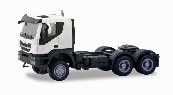 Herpa 310529 - Iveco Trakker Zugmaschine 6×6, weiß - 1:87