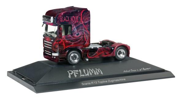 "Herpa 110808 - Scania R HL ""The Black Hole / Pflumm"" - 1:87"