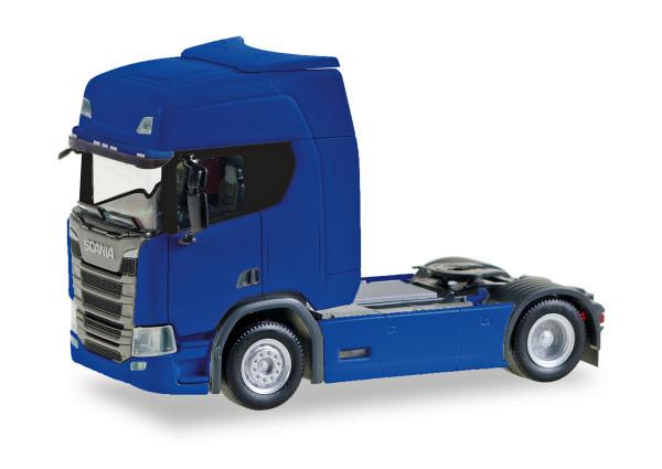 Herpa 307185-002 - Scania CR20 HD Zugmaschine, ultramarinblau - 1:87