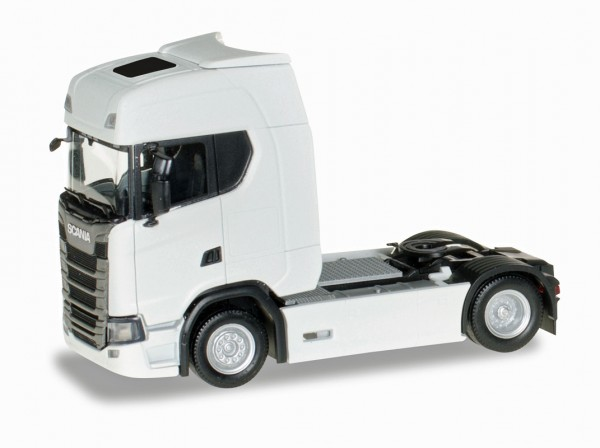 Herpa 306768 - Scania CS20 HD Zugmaschine, weiß - 1:87