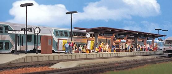 Vollmer 43536 - Bahnsteig Seeburg - H0 (3536)