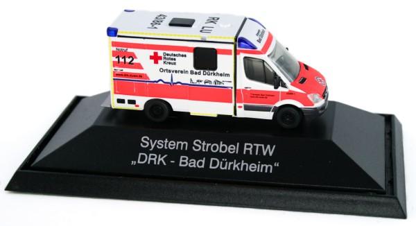 Rietze 61716 - System Strobel RTW DRK Bad Dürkheim - 1:87 - Einsatzserie