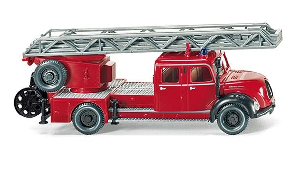Wiking 086234 - Feuerwehr - Drehleiter (Magirus DL 25h) - 1:87