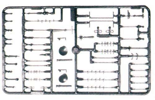Vollmer 45022 - Dachausstattung - H0 (5022)