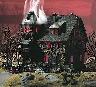Vollmer 47679 - Villa Vampir mit Flackerlicht - N (7679)