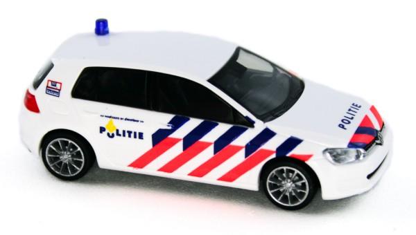 Rietze 53203 - Volkswagen Golf 7 4trg. Politie (NL) - 1:87