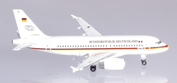 Herpa Wings 533409 - Luftwaffe Flugbereitschaft Airbus A319 - 1:500