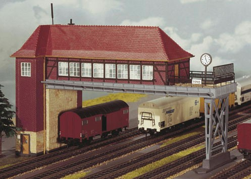 Kibri 39310 (9310) - Brückenstellwerk Hamm - H0