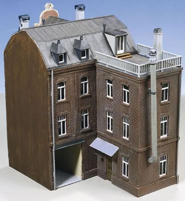 Kibri 38389 (8389) - Stadthaus mit Fabrikanbau - H0