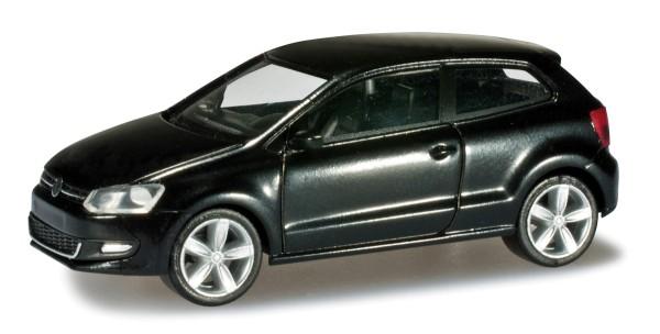 herpa 024235-002 - VW Polo 2-türig, schwarz - 1:87