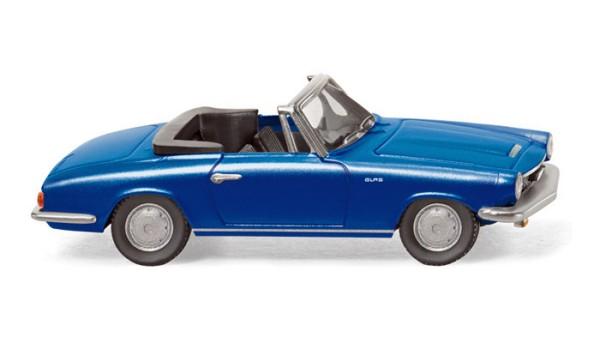 Wiking 018649 - Glas GT Cabrio blau metallic - H0