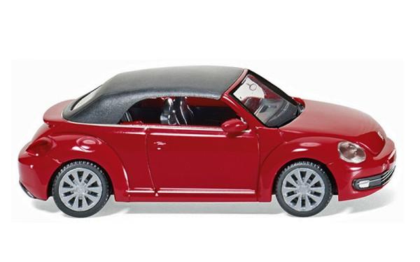 Wiking 002849 - VW The Beetle Cabrio (geschlossen) - tornadorot - 1:87