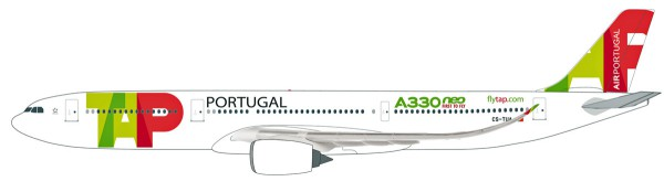 Herpa Wings 612227 - TAP Air Portugal Airbus A330-900 neo - 1:200 - Snap-Fit