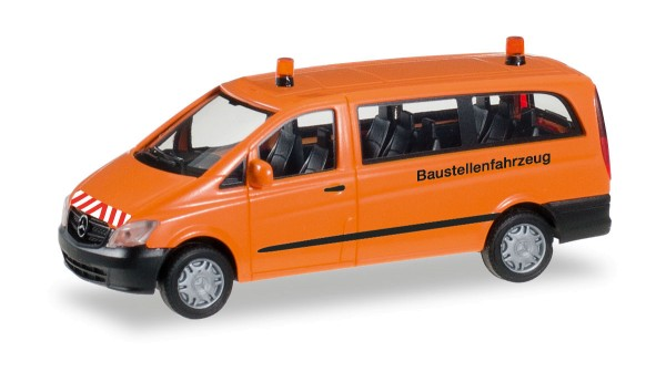 """Herpa 092555 - Mercedes-Benz Vito Bus """"Baustellenfahrzeug"""" - 1:87"""