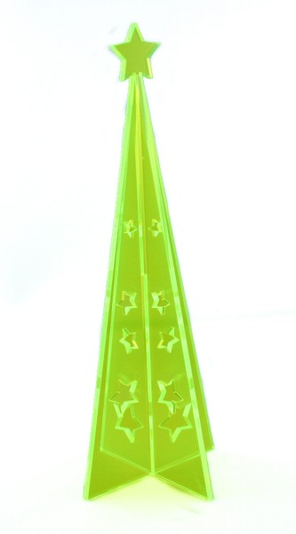 Lichtzauber 3D-Design-Tannenbaum Magic 30 cm, grün, stehend (Elliot 1020401)